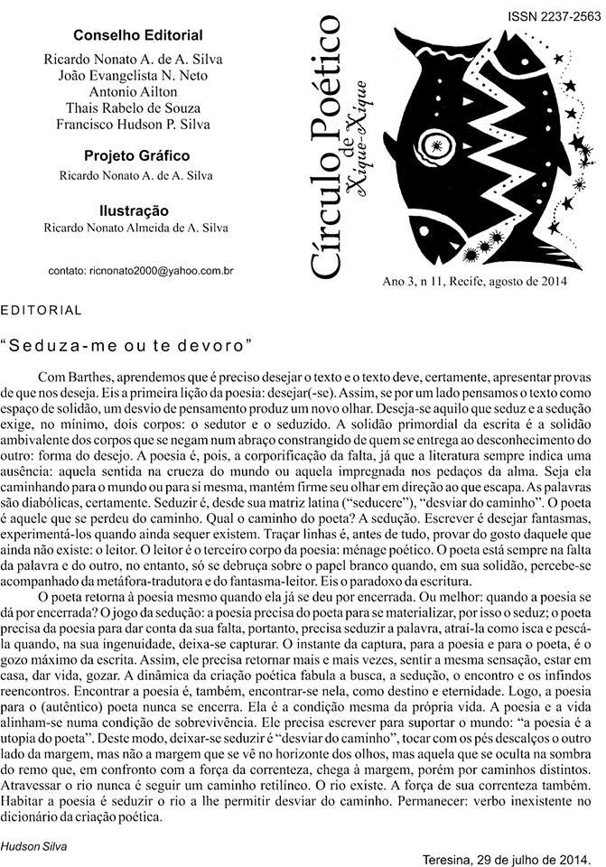 Círculo Poético de Xique-Xique I