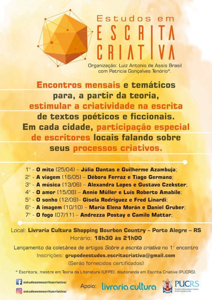 Estudos em Escrita Criativa - Porto Alegre - RS