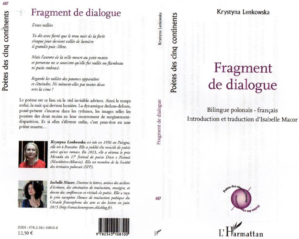 Fragment de dialogue K.Lenkowska - L'Harmattan - Trad. I. Macor - jpg