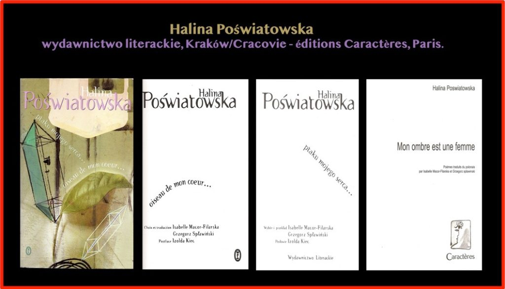 Ouvrages - Halina Poswiatowska 01-05-2020 à 16.19