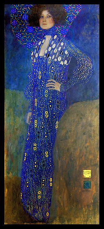 Quadro Gustav Klimt - Portrait Of Emilie Floge - 1902